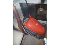Flymo compact hover mower-selling due to house move- urgent sale needed must go in a week