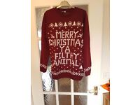 merry Christmas ya filthy animal christmas jumpers various sizes and colours