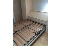 Fold down wall bed