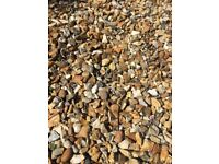 Golden gravel 30-40 rubble bags full