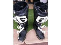 Gaerne SG12 motocross boots Size 8 uk (42 eu)
