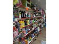job lot. shop closing .shop fittings shelving pound line business toys. DIY lots of stock