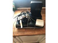Sky plus box, 2x routers, WiFi booster and paraphernalia