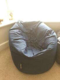 Bean bag - adult size, navy
