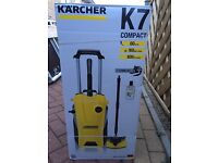 Karcher compact k7 power washer new in box