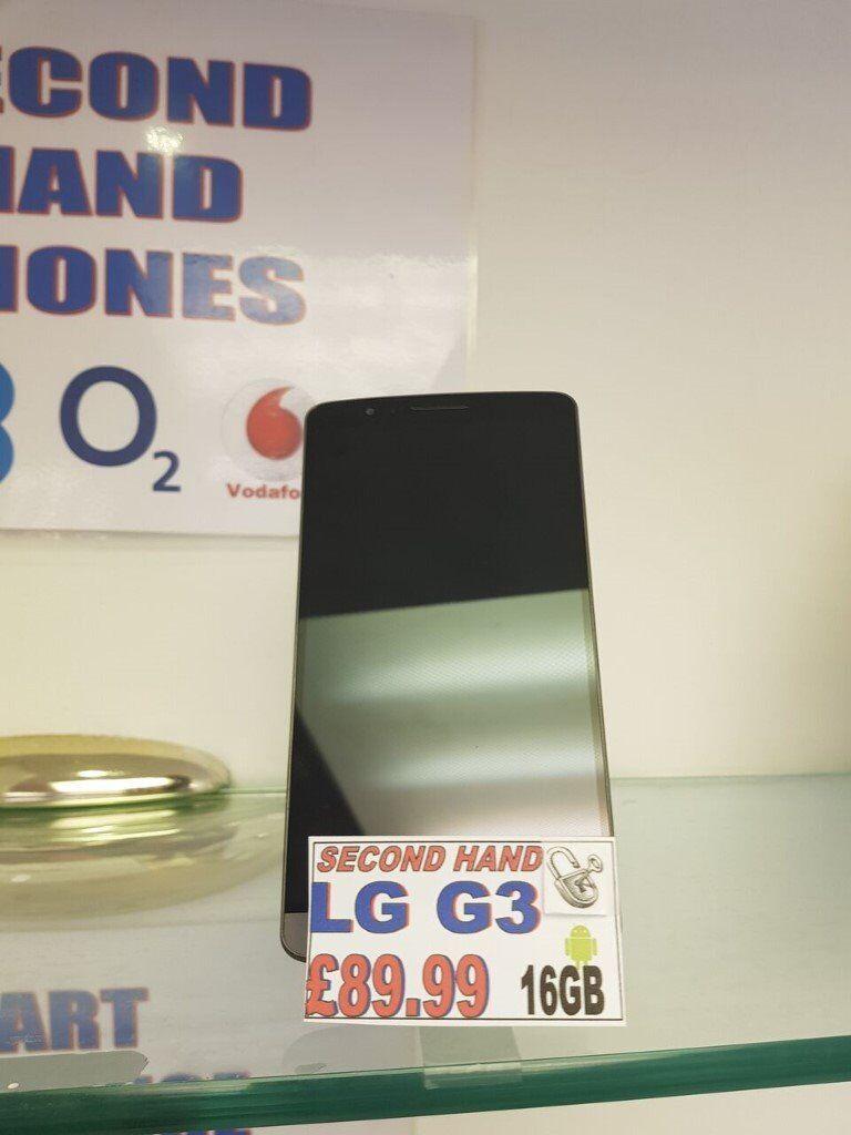 LG G3 - Unlocked - 16GB - Black - Special Gumtree Offer!