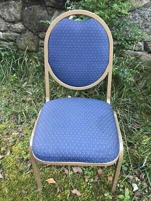 23 Upscale Stack Chairs Thick Cloth Seats Hi-qualitycomfortable Good Condition