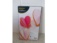Silicone heart baking equpment - used