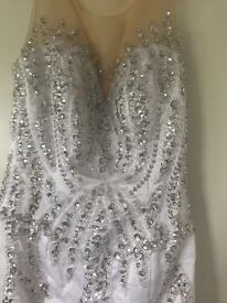 Prom wedding dress. Size 8