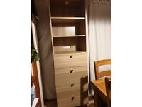Ikea tall cabinet with drawers