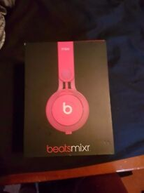 Beats Mixr Red/Pink On Ear Headphones