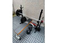 Olympic Barbell and weights