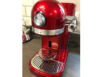 Nespresso KitchenAid Candy Apple Coffee pod machine
