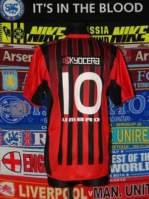 4/5 Atletico Paranaense adults L 2005 #10 original football shirt jersey trikot image