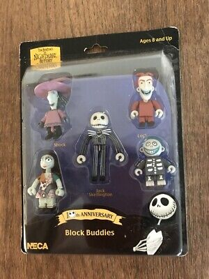 The Nightmare Before Christmas, Block Buddies collectibles from Neca