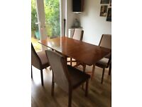 G-plan gate leg table - immaculate condition plus 4 chairs