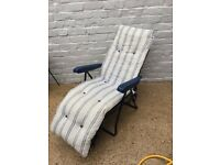 2 SAINSBURYS SUN LOUNGERS 4 SALE HARDLY USED RRP £40 each 2 available @ £15 each CAN DELIVER LOCAL