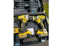 Dewalt 18v battery guns