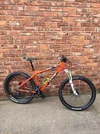 2014 Orange Crush Mountain Bike