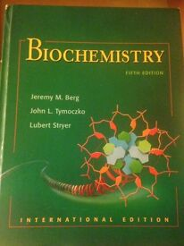 Biochemistry Fifth Edition Textbook and Student Companion