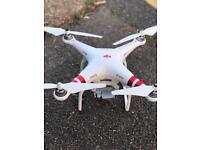 Dji phantom 3 standard drone quadcopter