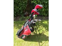 Dunlop Tour Steel and Graphite Golf Set - Used Once In The Garden