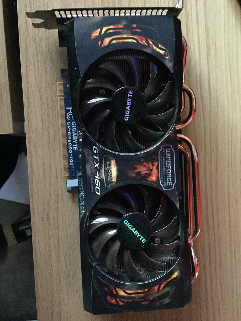 GIGABYTE GTX 460 1GB | in Birstall, Leicestershire | Gumtree