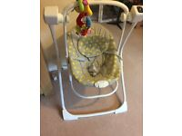 Graco Swing for sale - almost new