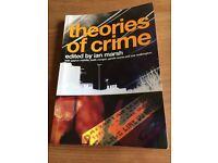 Theories Of Crime - Ian Marsh