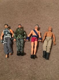 4 Action Men