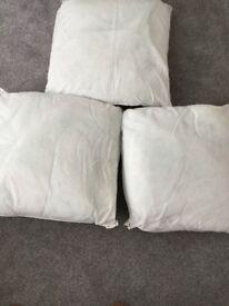 Large Cushions x 3