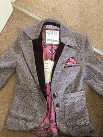 Tweed blazer brand new