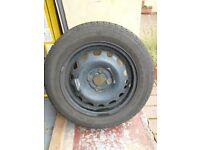Tyre and wheel 175/65 R14 82T
