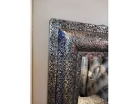 Mirror set of drawers and matching dressing table