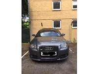 Audi a3 2.0tdi dsg s line fully loaded pan roof heated red leathers flat bottom steering wheel