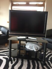 Sony 32 inch LCD TV & stand