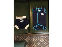Child/baby- Wet suit and swim nappy