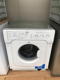 Brand new indesit integrated washing machine...CURRYS PRICE £249