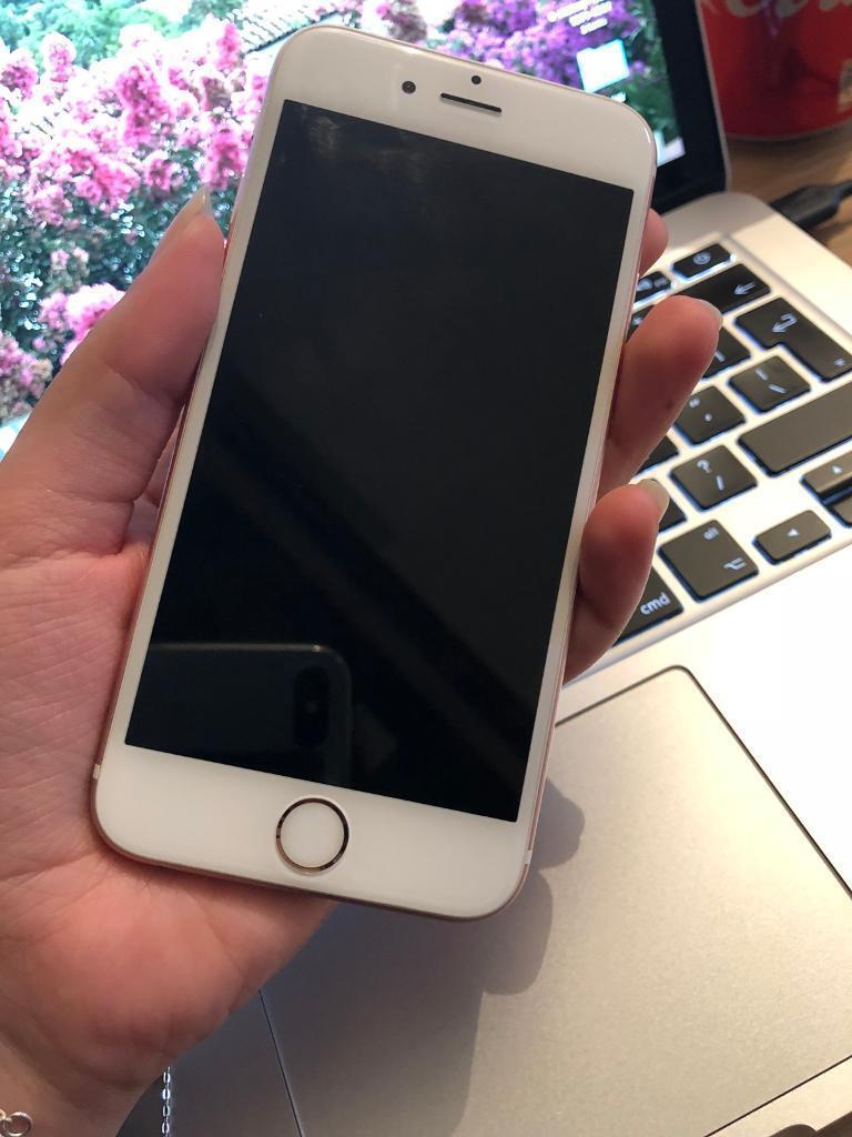 iPhone 6s Rose Gold 16GB Tesco