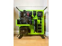 Thermaltake P5 Green Computer Case