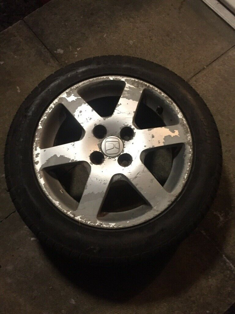 Honda Jazz Alloy Wheel With All Season Tyres In Callander Stirling