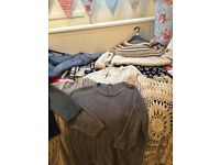 Large assorted bag of ladies size 16 cardigans and jumpers