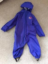 Bush Baby all in one waterproof aged for children 2years old