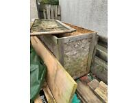 Free large wood crate