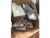 Box of car CD players