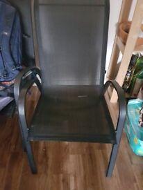 Garden chairs good condition