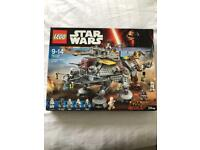 Star Wars Lego captain Rex's AT-TE