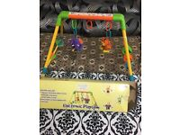 Baby play gym used
