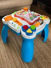 Leap Frog standing table