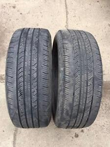 2 Michelin Primacy MXV4 - 205/55/16 - 60% - $50 For Both